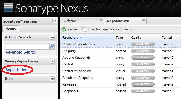 7 4  Maven Repository Management using NEXUS — TERASOLUNA